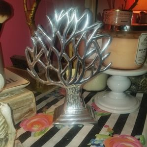 Hand made pewter designs jewelry tree